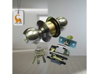 LittleThingy Stainless Steel Cylinder Entrance / Toilet / Office Door Lock